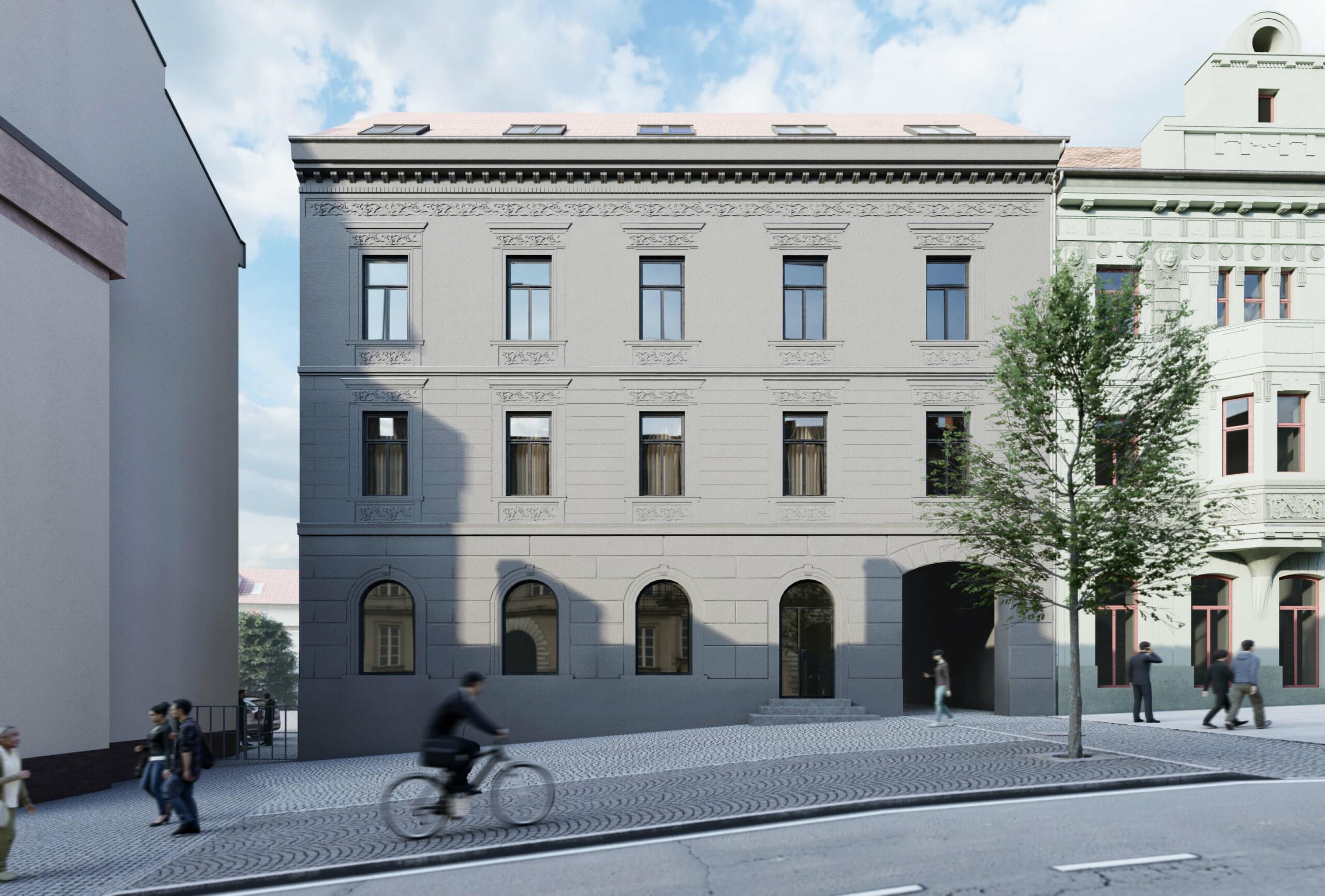 Karnet, architekti U Podařilů