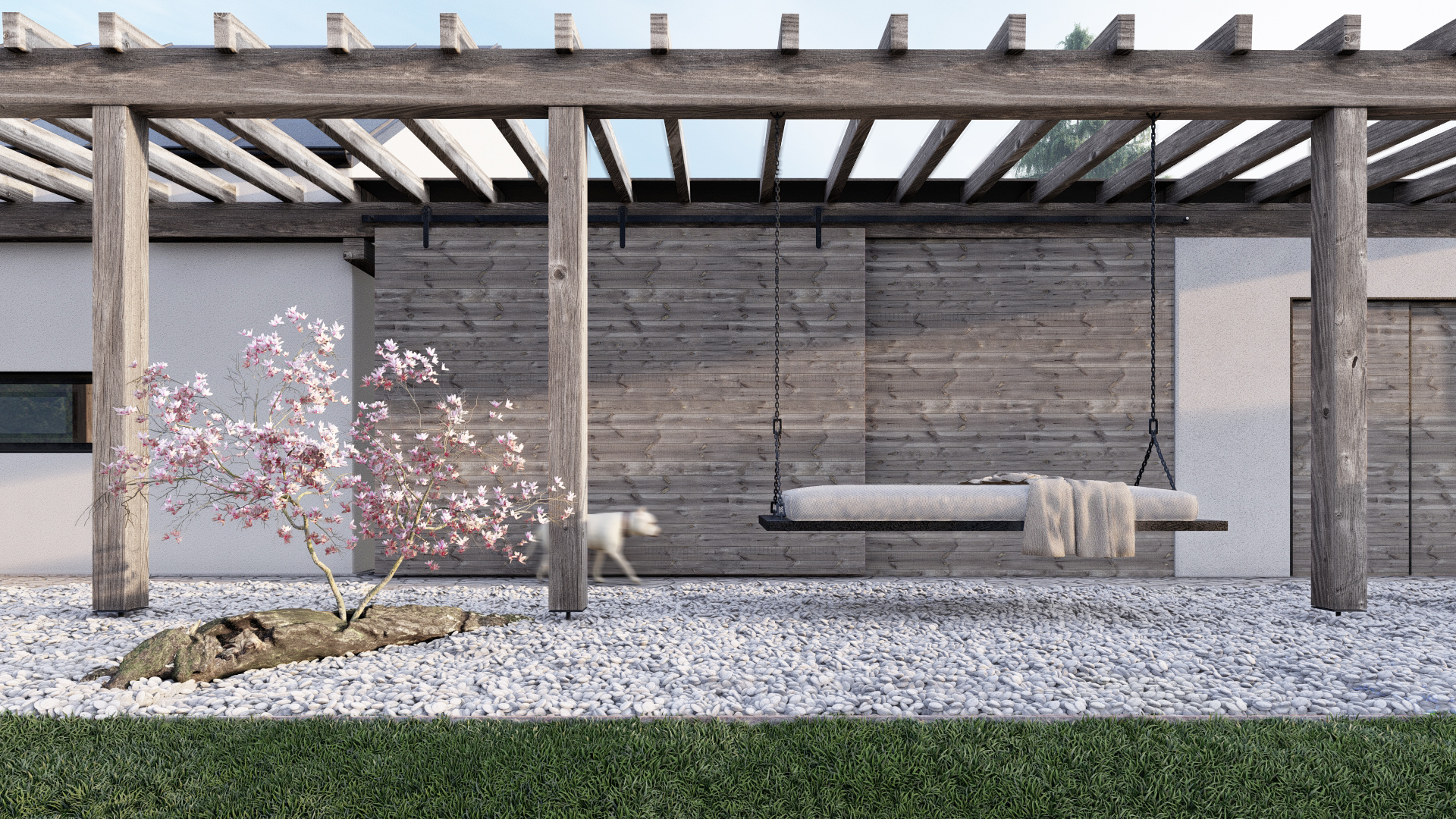 Karnet, architekti Dům s houpačkou