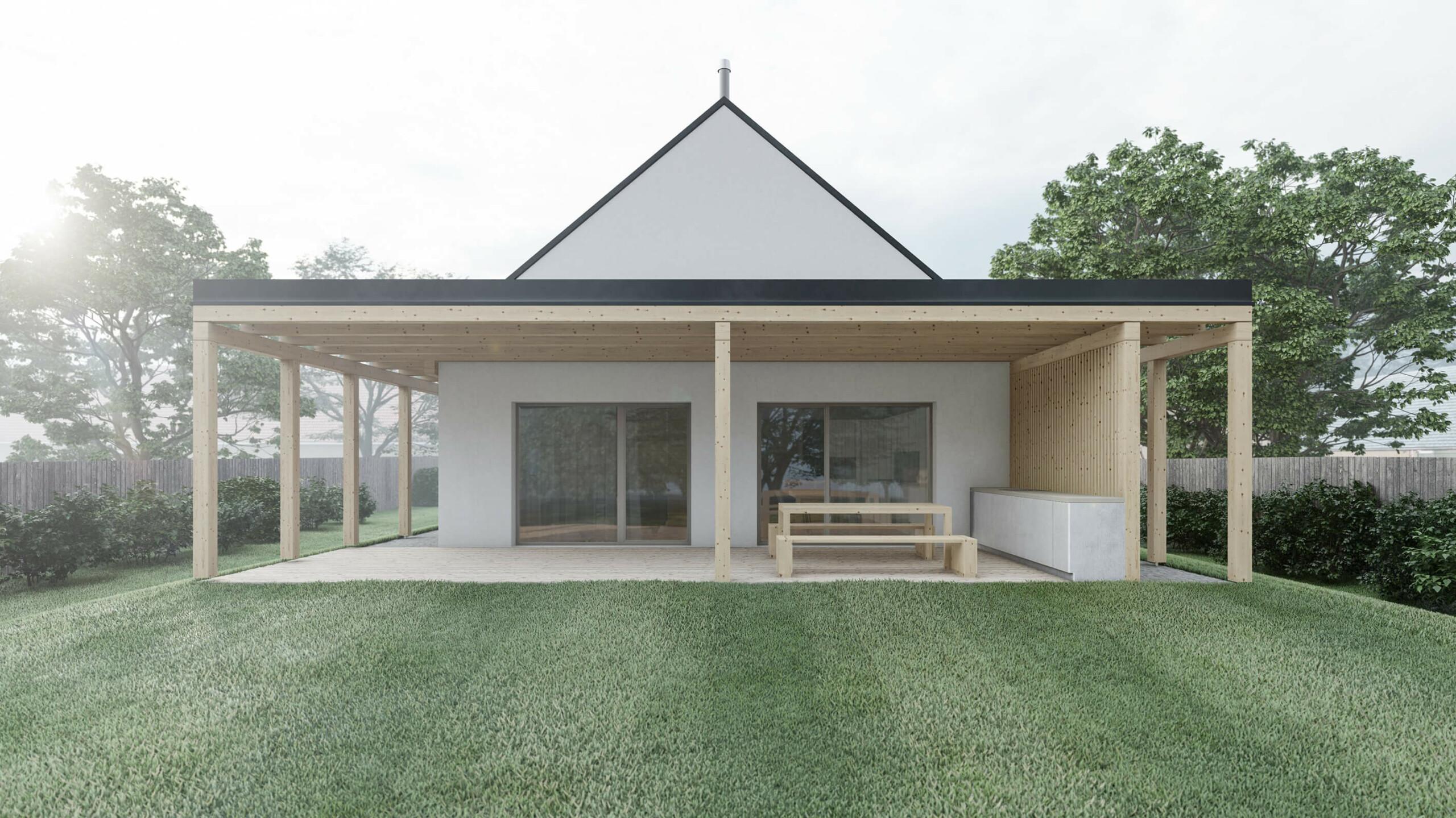 Karnet, architekti Dům s ochozem